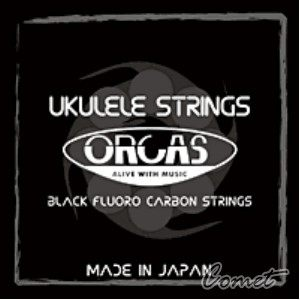 【 21.23吋烏克麗麗弦】 ORCAS 烏克麗麗弦 OS-LGT Ukulele (夏威夷小吉他) 黑瑩石低張力烏克麗麗弦