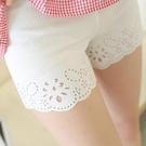安全褲 白色外穿三分防走光薄款打底短褲保險褲夏