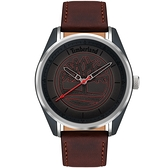 Timberland 都會時尚大三針手錶-45mm TBL.16086JSPGY/13