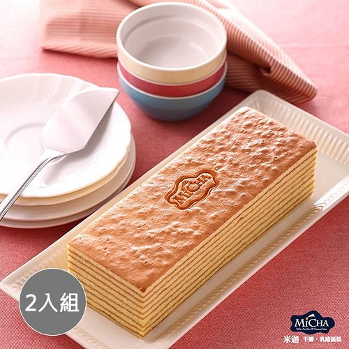 【米迦】蜂蜜千層蛋糕(蛋奶素)430±50gx2入組
