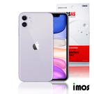 iMos 3SAS iPhone 11 (6.1) 非滿版超抗潑水疏油效果保護貼正面