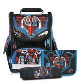 Tiger Family-小貴族超輕量護脊書包+文具袋+鉛筆盒-科幻戰警【黃嘉千 夏天真心推薦】