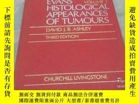 二手書博民逛書店EVANS罕見HISTOLOGICAL APPEARANCES