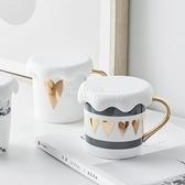 網紅積雪杯蓋加厚食品級環保硅膠杯蓋創意馬克杯水杯子防塵蓋通用 四季生活