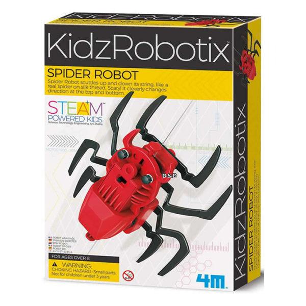 《4M科學探索》機械蜘蛛 Spider Robot╭★ JOYBUS玩具百貨
