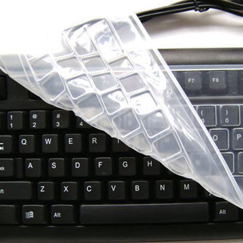 Qmishop 桌上型鍵盤保護膜/防水膜/鍵盤膜/防髒汙/通用型 鍵盤模 【J188】