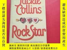 二手書博民逛書店JACKIE罕見COLLINS ROCK STAR 傑基·柯林斯搖滾明星Y203616 Jackie Coll