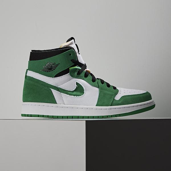 Nike Air Jordan 1 CMFT Stadium Green 男 白綠麂皮 籃球鞋 CT0978-300