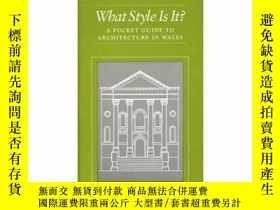 二手書博民逛書店What罕見Style Is It? A Pocket Guid