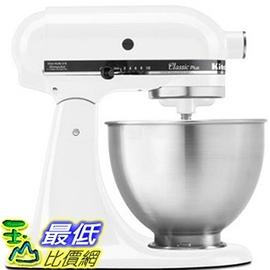 [美國直購] 攪拌機 KitchenAid KSM75WH 4.5-Qt Classic Plus Stand Mixer - White