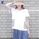 【春夏新品】American Bluedeer - 格紋口袋上衣 春夏新款