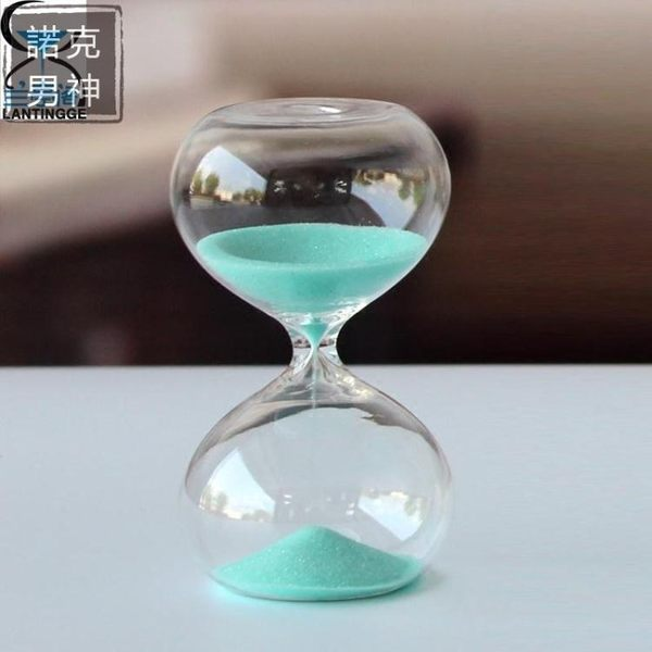 沙漏 玻璃家居擺件5分鐘小沙漏創意禮品兒童生日交換禮物開學送同學禮品 實用交換禮物