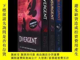 二手書博民逛書店分歧者英文原版罕見Divergent Series 系列小說版全