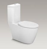 【麗室衛浴】美國 KOHLER KARESS 雙體馬桶  K-5331T-S-0  配緩降馬桶蓋 管距30CM