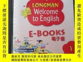 二手書博民逛書店Longman罕見Welcome to English E-Books 1 (2張光盤)Y21478 iLon