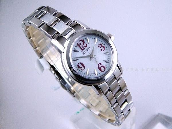 【時間光廊】SEIKO 精工錶 日製 LUKIA  紅 光動能 免換電池 SSVR055J
