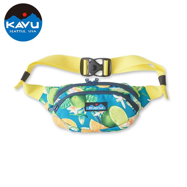 【西雅圖 KAVU】Spectator 休閒腰包|肩背包 海洋柑橘 #9065