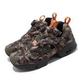 Reebok 慢跑鞋 Insta Pump Fury OG MU 綠 黑 迷彩 男鞋 運動鞋 休閒鞋 【PUMP306】 DV6962