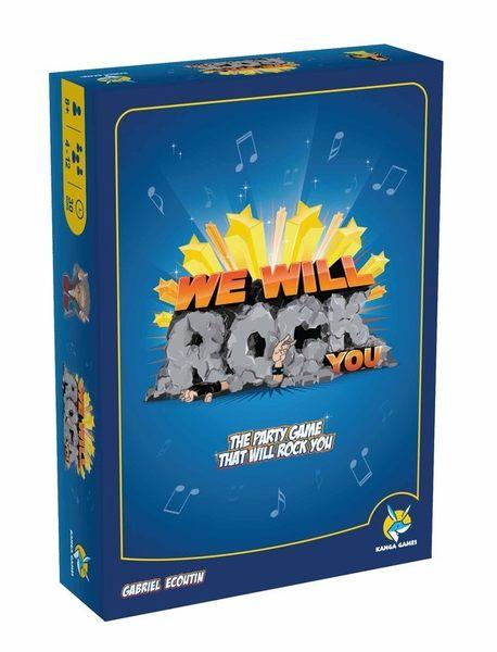 『高雄龐奇桌遊』 搖滾節奏 We Will Rock You 繁體中文版 ★正版桌上遊戲專賣店★