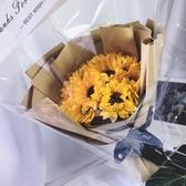 母親節禮物ins風19朵玫瑰香皂花康乃馨仿真 開業送花拍照閨蜜女友 MKS小宅女