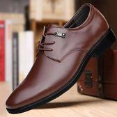 英倫商務正裝皮鞋男新郎結婚鞋孟克鞋西裝鞋軟底手工男鞋 QQ5634『優童屋』