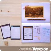 A7迷你手帳月曆貼x12枚入x12枚入 / 和紋 【W2Design】