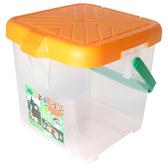 【台灣製 月光寶盒RV多功能桶 黃  】P888Y/可承重/置物桶/洗車桶/收納桶/萬用桶