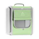 JohoE嚴選 愛麗絲城堡側邊透明耐刮寵物果凍背包-蘋果綠(MS9AD2G)