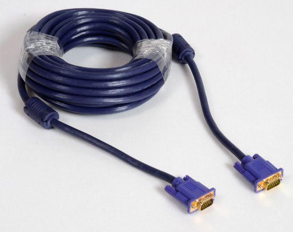 [卡瑪斯投影機銀幕] VGA 訊號線 vga同軸線 公對公20米 訊號線