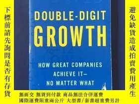 二手書博民逛書店DOUBLE-DIGIT罕見GROWTH 兩位數的增長Y14635 MICHAEL TREACY PORTFO