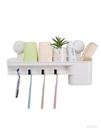 牙刷置物架 真空吸盤刷牙杯簡約壁掛牙刷架...