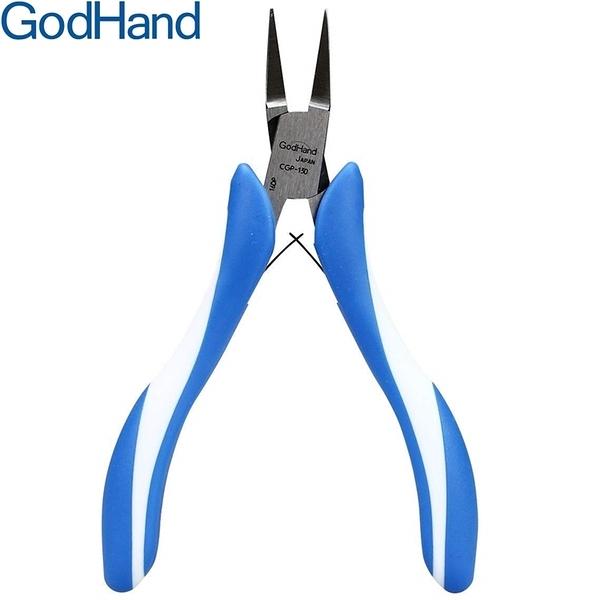 又敗家@日本神之手GodHand極細平口鉗CGP-130(刃面合寬1mm)神の手平嘴鉗蝕刻片彎折鉗模型鉗