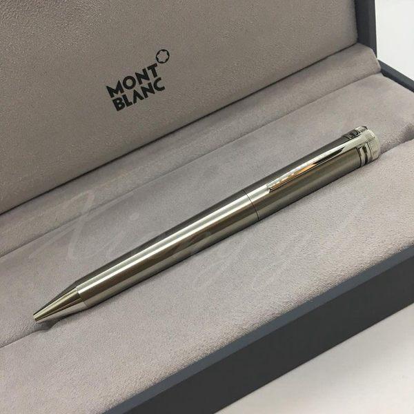 萬寶龍MONTBLANC-鋼珠筆-傳承系列-1912旋轉式鋼珠筆(銀)