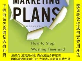 二手書博民逛書店Breakthrough罕見Marketing Plans: How To Stop Wasting Time A