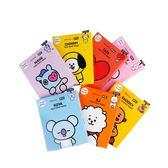 韓國 MEDIHEAL BT21聯名款 保濕面膜(附贈書籤明信片) 4片/盒 ◆86小舖 ◆