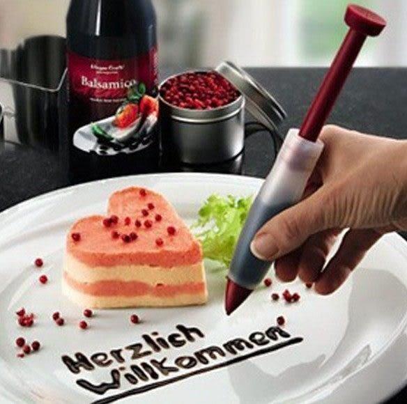食品級矽膠 巧克力筆 咖啡雕花筆 裝飾筆U02011