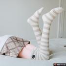 2雙裝 珊瑚絨長筒襪子女秋冬毛襪保暖加厚...