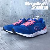 Champion 寶藍 螢光粉鞋帶 慢跑 休閒 女 (布魯克林)  641120335