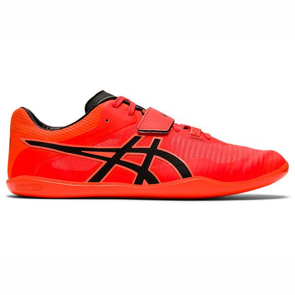 Asics Throw Pro 2 [1093A046-701] 男女鞋 田徑釘鞋 運動 鉛球 鐵餅 穩定 亞瑟士 紅黑