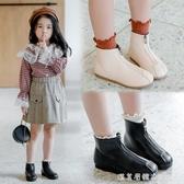 2020春秋新款時尚兒童馬丁靴女童短靴小中童寶寶皮靴軟底百搭單靴 美眉新品