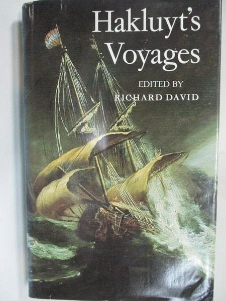 【書寶二手書T1/原文小說_HG9】Hakluyt s Voyages_Richard David