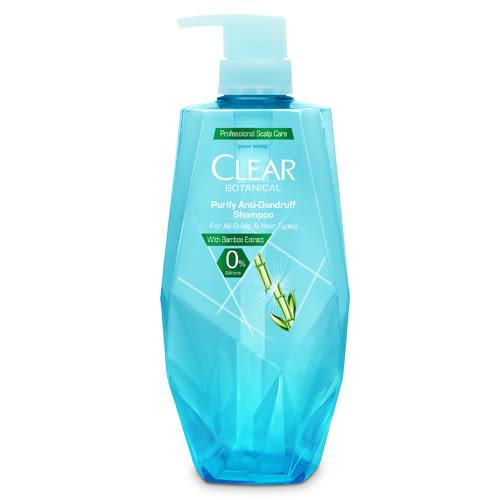 CLEAR淨植覺淨透去屑洗髮露-竹葉精萃700ml【愛買】