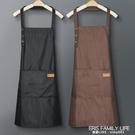 時尚薄款圍裙女家用廚房防水防油工作服定制logo印字夏天超薄罩衣 艾瑞斯