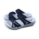 G.P (GOLD PIGEON) 阿亮代言 雙帶拖鞋 女鞋 藍色 G1577W-20 no508