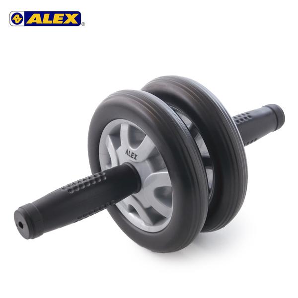 ALEX 雙輪式滾輪輪直徑14cm (健腹輪 健美輪 健身 肌肉訓練≡體院≡