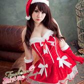 聖誕裝性感聖誕服 聖誕節服裝跨年角色扮演制服派對聖誕裝含聖誕帽*流行E線F010