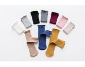 兒童襪子男女童堆堆襪春秋韓國公主潮妞寶寶中筒純棉糖果色1-10歲