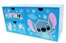 【震撼精品百貨】Stitch_星際寶貝史迪奇~迪士尼台灣授權史迪奇橫式三抽收納櫃*38170