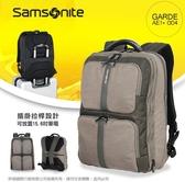 新秀麗Samsonite透氣寬版背帶大容量後背包AE1*004輕量旅行包/商務包可插掛拉桿 15.6吋筆電/平板包