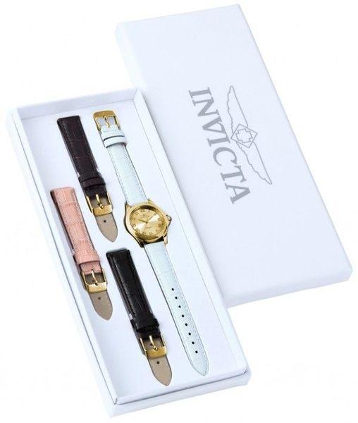 【INVICTA】 天使系列 - 四色錶帶優雅女錶禮盒
